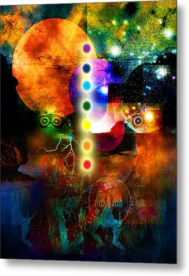 Sonic Ascension Metal Print by Bruce Manaka