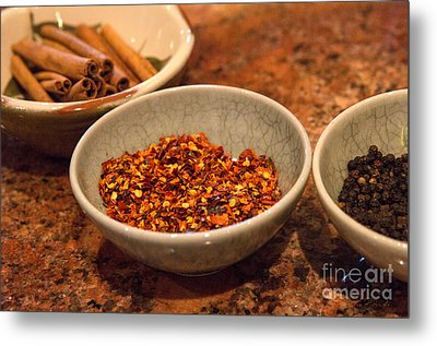 Sonoma California Pickling Spices Metal Print