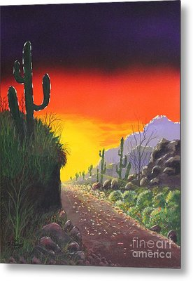 Sonoran Sunrise Metal Print