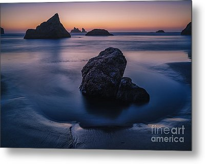 Soothing Light Metal Print