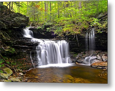 Soothing Tranquility Metal Print by Frozen in Time Fine Art Photography