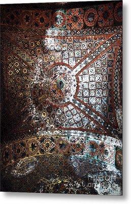 Sophia Ceiling Mural Metal Print by John Rizzuto