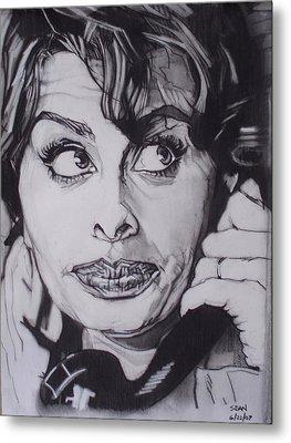 Sophia Loren Telephones Metal Print by Sean Connolly