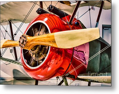 Sopwith Camel Metal Print by Inge Johnsson