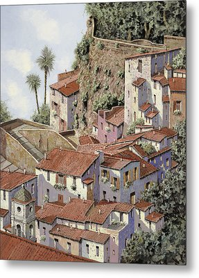 Sorrento Metal Print by Guido Borelli