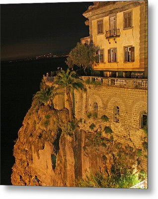 Sorrento Italy Metal Print by Richard Engelbrecht