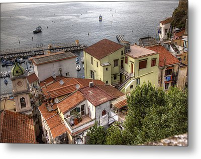 Metal Print featuring the photograph Sorrento by Uri Baruch