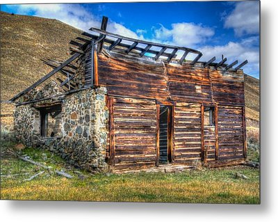 Metal Print featuring the photograph Sorry We're Closed by Kevin Bone