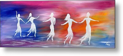 Soul Dance  Metal Print by Marianna Mills