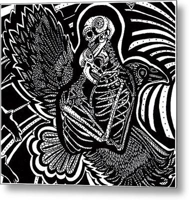 Soul Mates Metal Print by Judy Moon