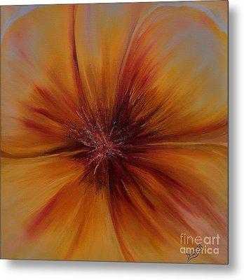Soul Of A Flower Metal Print by Mary DeLawder