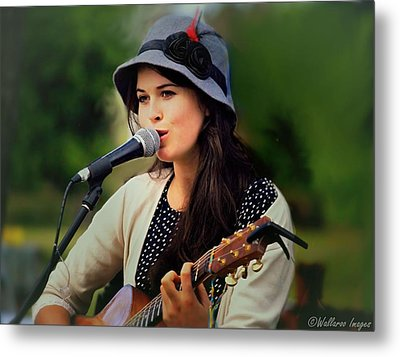 Metal Print featuring the photograph Soul Sister by Wallaroo Images