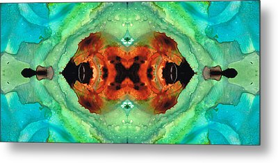 Soul Symphony - Abstract Art By Sharon Cummings Metal Print by Sharon Cummings