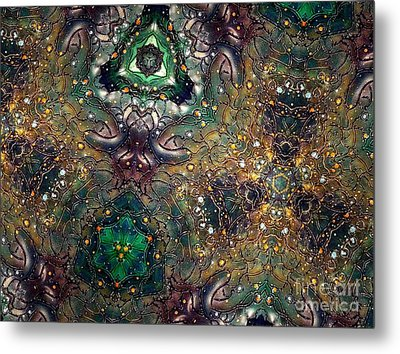 Soul Threads II Metal Print by Denise Nickey