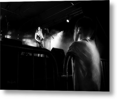 Sounds In The Night Metal Print by Bob Orsillo