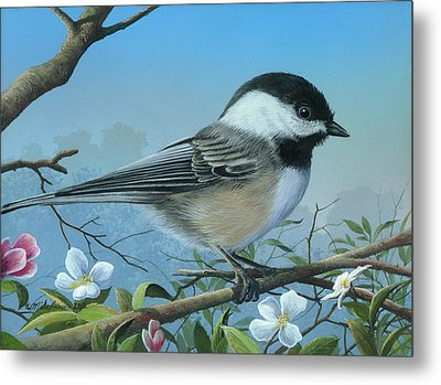 Metal Print featuring the painting Sounds Of Spring by Mike Brown