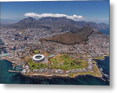 South Africa - Cape Town Metal Print by Michael Jurek