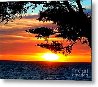 South Bay Sunset Metal Print