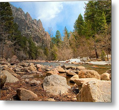 South Boulder Creek - Eldorado Canyon State Park Metal Print