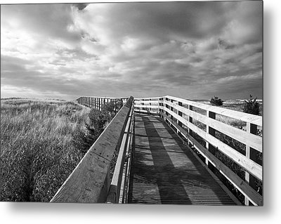 South Cape Beach Boardwalk Metal Print