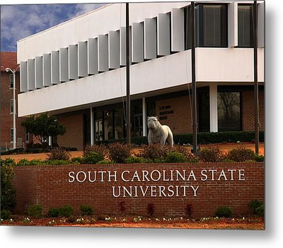 South Carolina State University 2 Metal Print by Bob Pardue