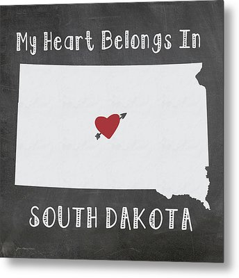 South Dakota Metal Print by Jo Moulton