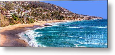 South Laguna Beach Coast Metal Print
