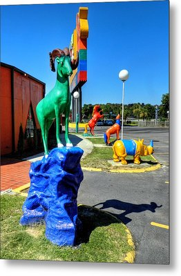 South Of The Border 009 Metal Print by Lance Vaughn