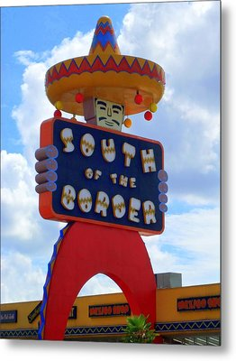 South Of The Border 10 Metal Print