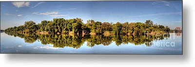 Metal Print featuring the digital art South Of The James by Kelvin Booker
