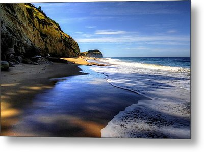 South Pacific Shores Metal Print