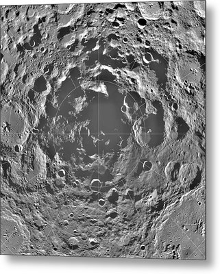 South Pole Of Moon  Metal Print by Anonymous