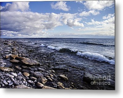 South Shore Amherst Island Metal Print by Michael Cummings