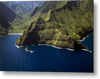 South Shore Molokai 1 Metal Print