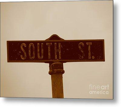 South Street Metal Print by Michael Krek