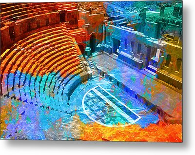 South Theatre Jordan Metal Print by Catf