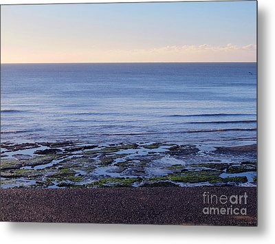 South Uk Seaside Metal Print
