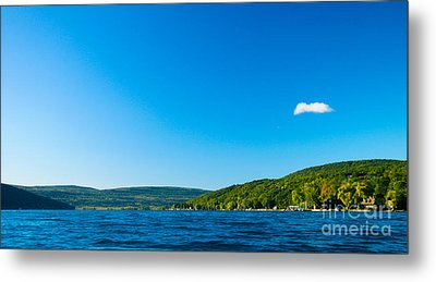 South View Of Canandaigua Lake Metal Print by Steve Clough