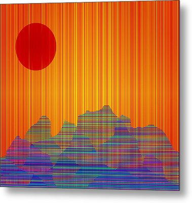 South West IIi Metal Print