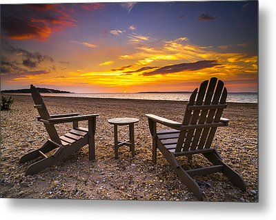 Southampton Shores View For 2 Metal Print by Ryan Moore