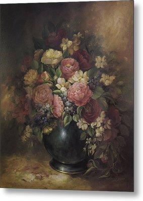 Southern Bouquet Metal Print by Nancy Gorr