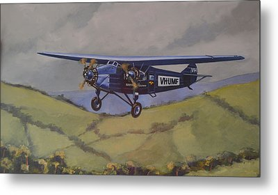 Metal Print featuring the painting Southern Cloud 1931 by Murray McLeod