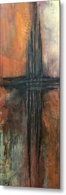 Metal Print featuring the painting Southern Cross by Buck Buchheister