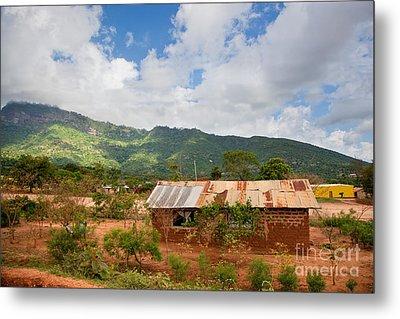 Southern Kenya Poverty Landscape Metal Print