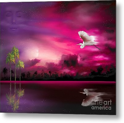 Metal Print featuring the painting Southern Magic by S G