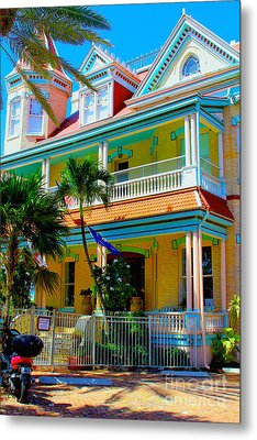 Southernmost House Metal Print by Carey Chen