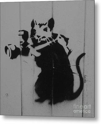 Southport Mouse Metal Print by C Lythgo