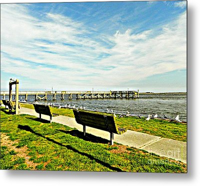 Southport Waterfront Metal Print
