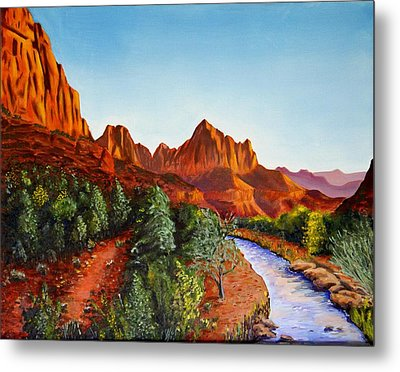 Southwest Afternoon Metal Print