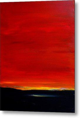 Southwest Desert Sunrise Metal Print